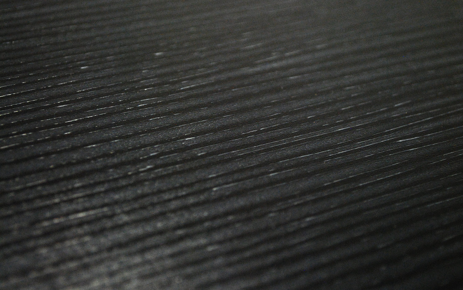 3D Painted Fiberboard Black / White 10