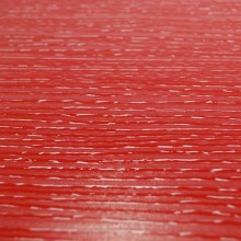 3D Painted Fiberboard Red / White 30