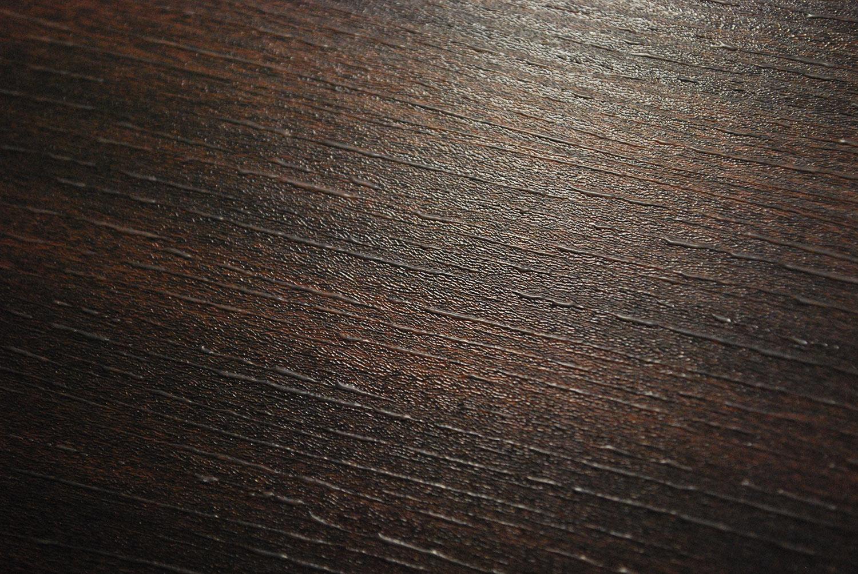 3D Painted Fiberboard Wenge Oak / Clear 30