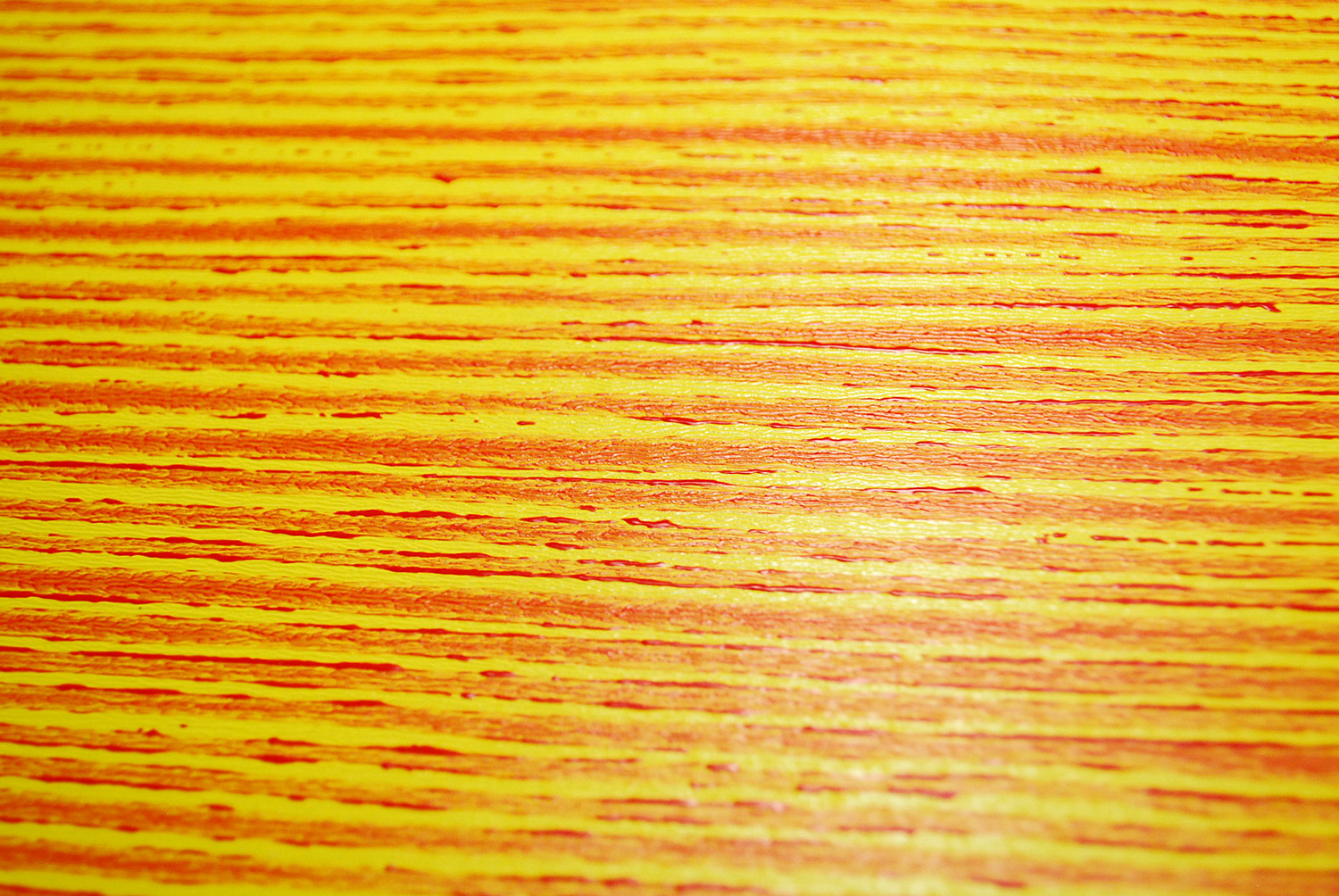 3D Painted Fiberboard Yellow / Red 30